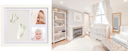 BABY HANDPRINT AND FOOTPRINT FRAME KIT