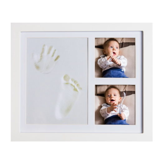 JOYBINO Baby Clay Handprint & Footprint Photo Frame Kit For Newborn Girls & Boys