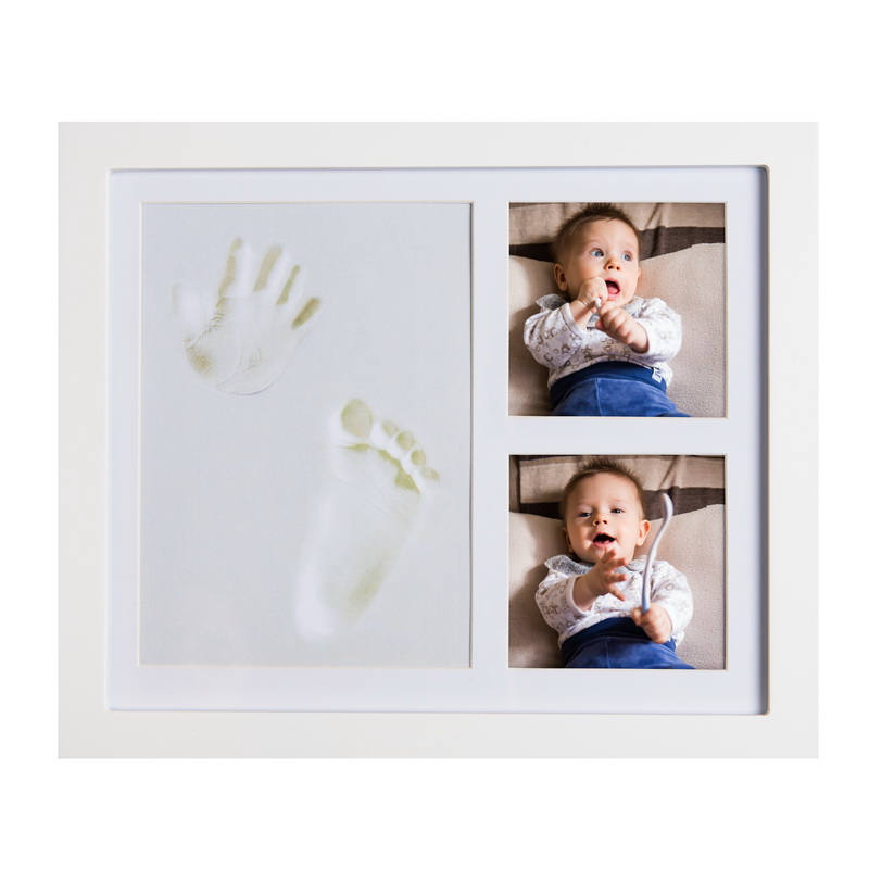 Joybino Baby Clay Handprint Footprint Photo Frame Kit Joybino
